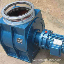 Heavy cast iron rotary discharging valve